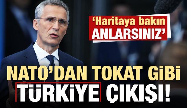 NATO'dan Türkiye itirafı: Haritaya bakın anlarsınız!