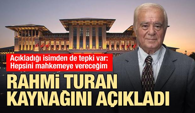 Son dakika: Rahmi Turan CHP'li isim iddiasında kaynağını açıkladı