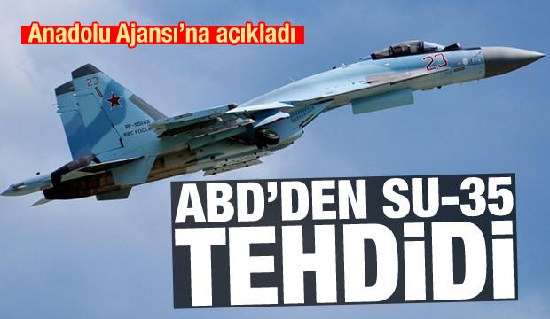 ABD'den herkesi hayrete düşüren Su-35 tehdidi