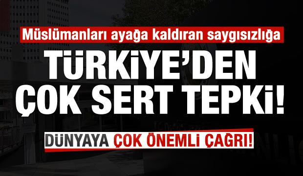Son dakika: Türkiye'den çirkin provokasyona çok sert tepki!