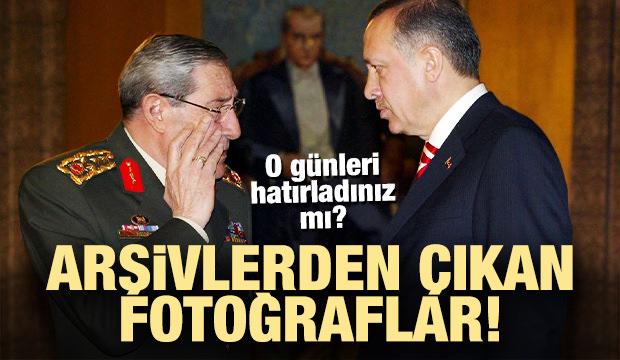Arşivlerden çıkan fotoğraflarla 'Yaşar Büyükanıt'