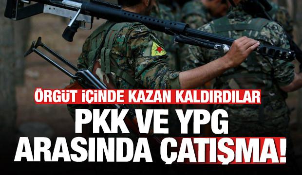 Terör örgütü YPG ve Kandil arasında çatışma! Kazan kaldırdılar