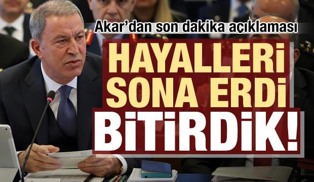 Türkiye'den son dakika açıklaması: Hayalleri sona erdi, bitirdik!