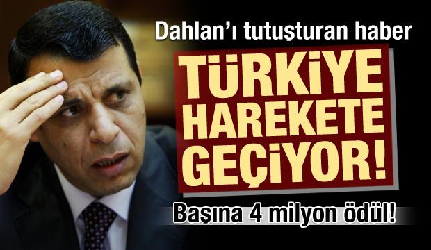 Türkiye, Muhammed Dahlan için harekete geçiyor! Başına 4 milyon ödül