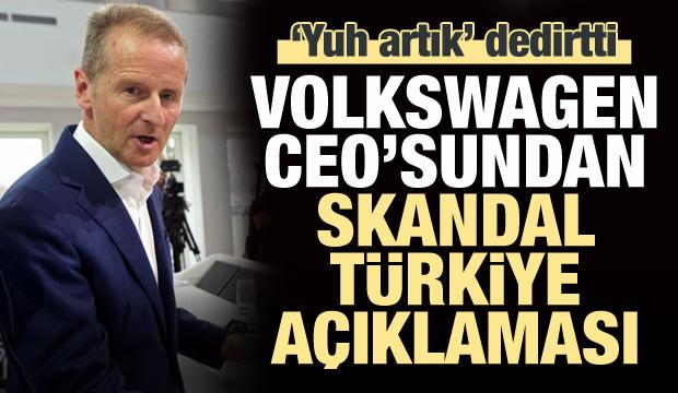 Volkswagen'den skandal Türkiye açıklaması!
