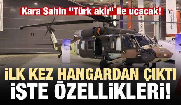 """Kara Şahin """"Türk aklı"""" ile uçacak"""