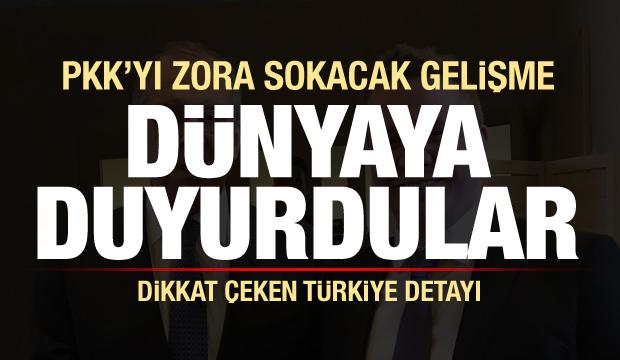 Sürpriz Türkiye çıkışı! PKK'yı şoke eden gelişme dünyaya duyuruldu