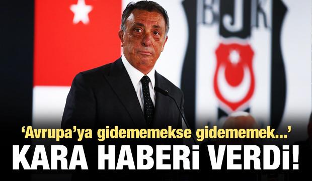 Ahmet Nur Çebi: Avrupa'ya gidemeyebiliriz