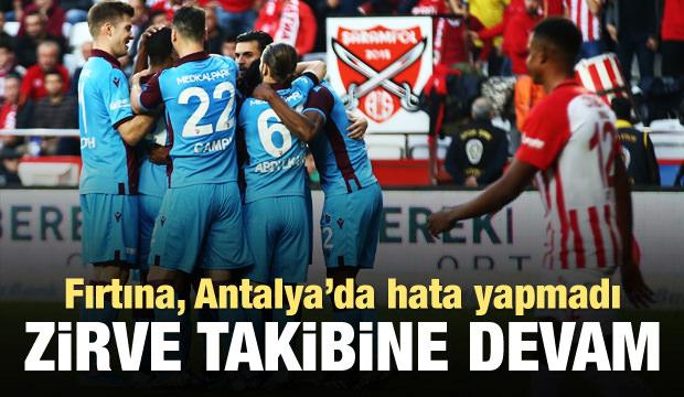 Antalyaspor - Trabzonspor: 1-3