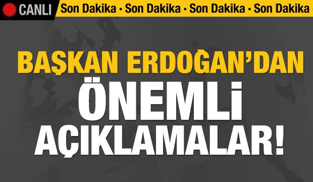 Cumhurbaşkanı Erdoğan, Londra'da cami açılışında konuşuyor