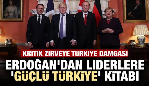 Erdoğan'dan liderlere 'Stratejik İttifakın Güçlü Üyesi Türkiye' kitabı
