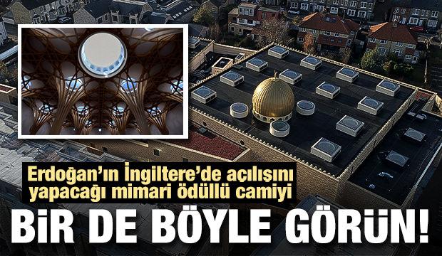 Erdoğan'ın açacağı Cambridge Camisini bir de böyle görün