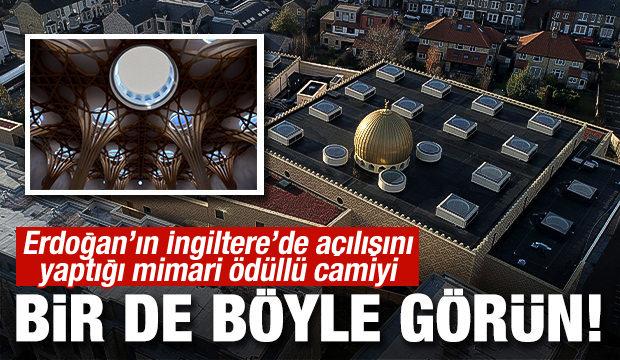 Erdoğan'ın açılışını yaptığı Cambridge Camisini bir de böyle görün