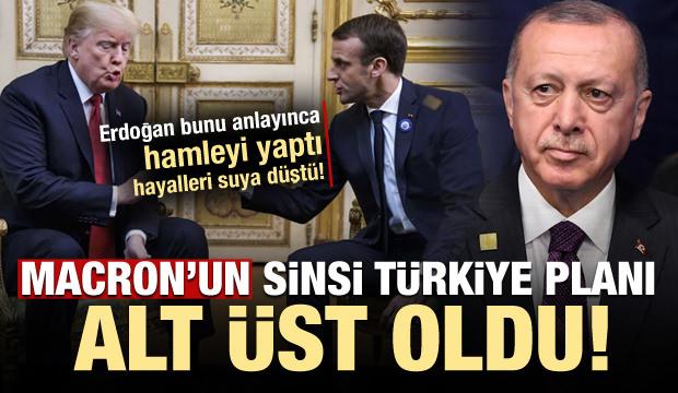 Erdoğan'ın hamlesi Macron'un sinsi Türkiye planını alt üst etti!