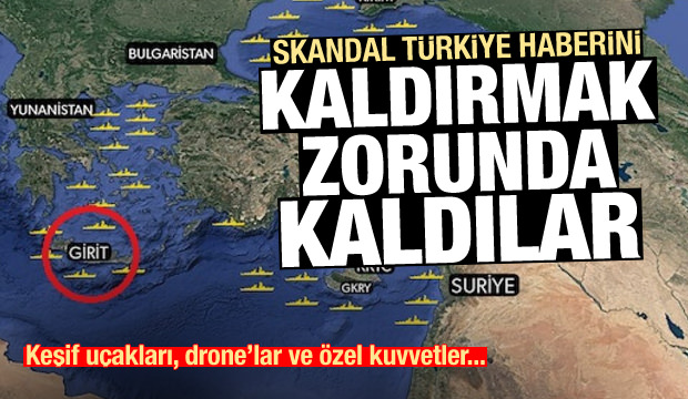 Son Dakika: Çirkin Türkiye hareketi! Geri adım atmak zorunda kaldılar