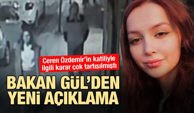 Son dakika: Ceren Özdemir cinayetiyle ilgili yeni gelişme!