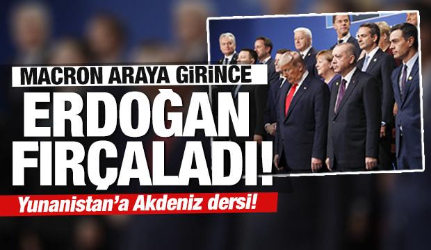 Son dakika: Erdoğan'dan Yunanistan ve Fransa'ya NATO'da tarihi fırça!