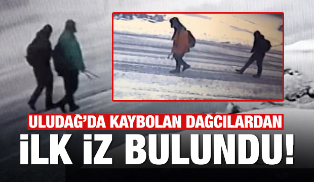 Son dakika haberi: Uludağ'da kaybolan dağcılardan ilk iz bulundu!