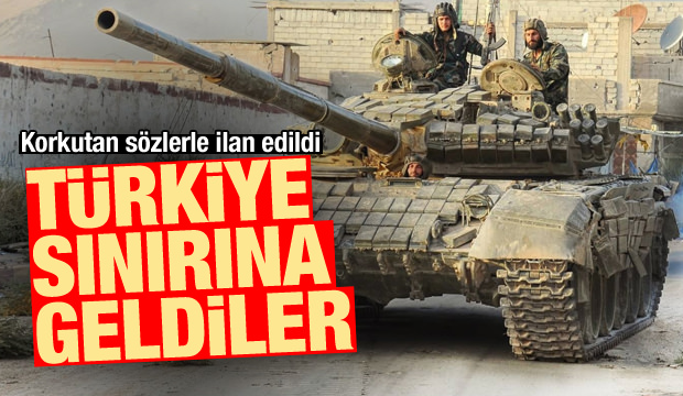 Son Dakika: Korkutan sözlerle ilan edildi! Türkiye sınırına geldiler
