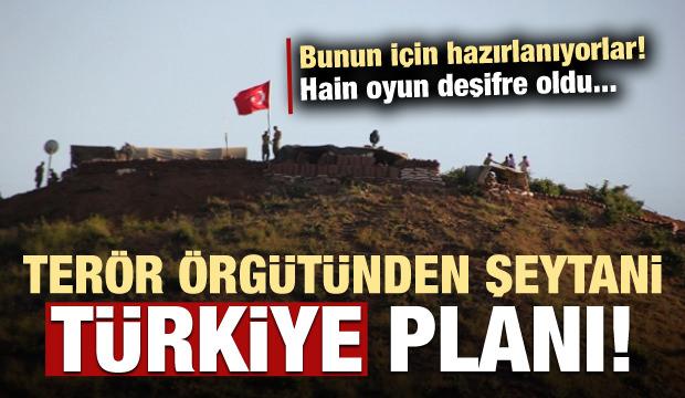 Terör örgütünden şeytani Türkiye planı!