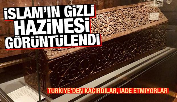 Türkiye'den kaçırıldılar! İslam'ın gizli hazinesi görüntülendi