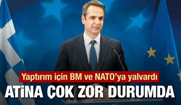 Atina BM, AB ve NATO kapısından eli boş döndü
