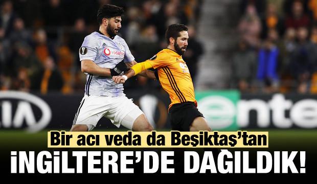 Beşiktaş İngiltere'de 13 dakikada dağıldı!