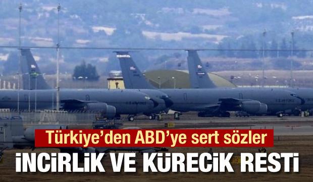 Dışişleri Bakanı Çavuşoğlu'ndan ABD'ye İncirlik resti