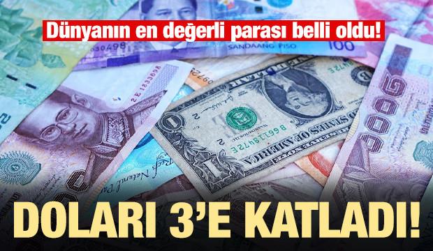 Dünyanın en değerli 10 para birimi - 2019