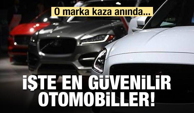 En güvenli otomobiller açıklandı!