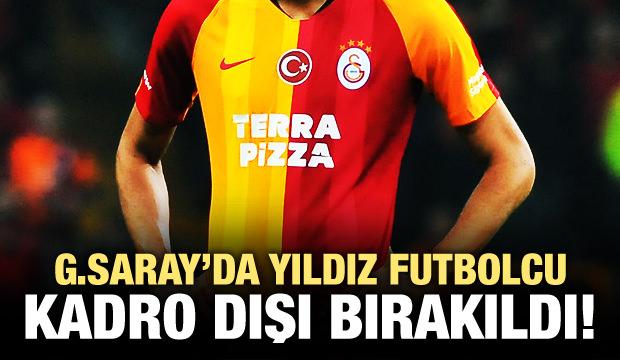 Galatasaray'da Nzonzi kadro dışı bırakıldı