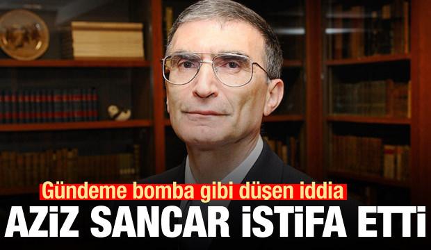 Son Dakika: Gündeme bomba gibi düştü! Aziz Sancar istifa etti