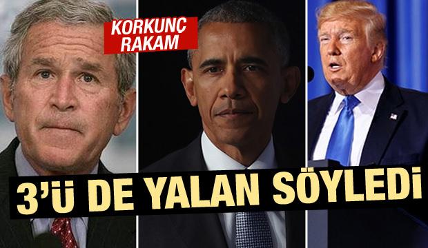 Hezimetin belgeleri! 3 başkan da yalan söyledi