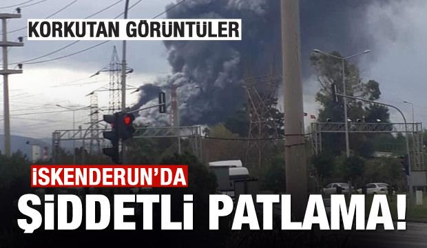 Son dakika haberi -İskenderun Demir Çelik Fabrikasında patlama!