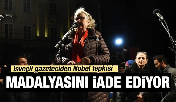 İsveçli gazeteciden 'Handke' tepkisi: Ödülünü iade ediyor