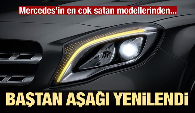 Mercedes'in en küçük SUV modeli GLA görücüye çıktı!