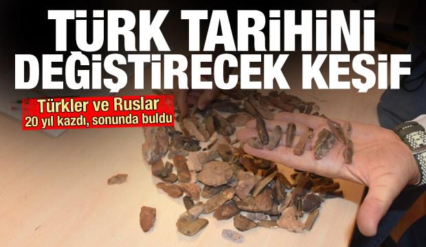 Ruslar ve Türkler 20 yıl kazdı ve buldu! Türk tarihini değiştirecek