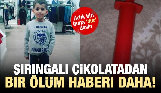 Şırıngalı çikolatadan bir ölüm de Diyarbakır'da