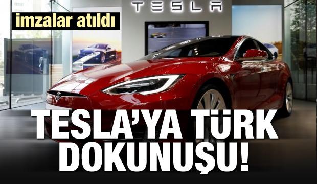 Tesla'ya Türk dokunuşu! İmzalar atıldı