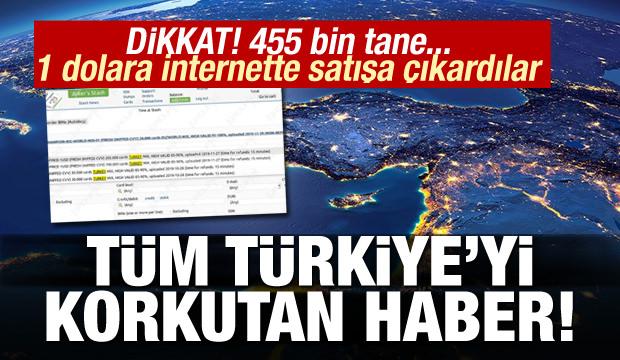 Tüm Türkiye'ye korkutan hırsızlık! 455 bin tane... 1 dolara internette satıyorlar
