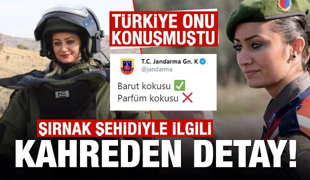 Türkiye'nin konuştuğu kadın bomba imha uzmanı şehit oldu