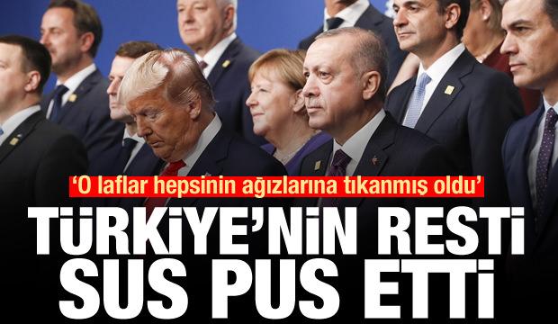 Türkiye'nin resti sus pus etti: O laflar ağızlarına tıkanmış oldu