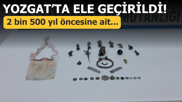 Yozgat'ta ele geçirildi! 2 bin 500 yıl öncesine ait...