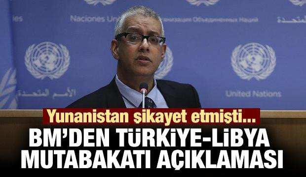 Yunanistan şikayet etmişti! BM'den Türkiye-Libya mutabakatı açıklaması