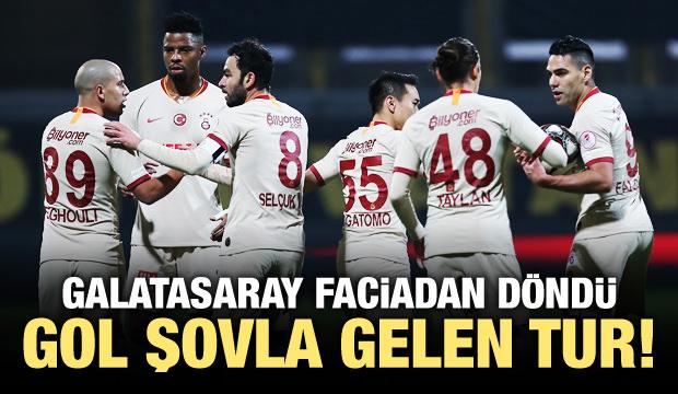 Galatasaray gol şovla tur atladı!
