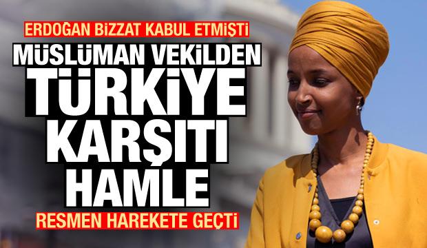 Erdoğan'ın bizzat görüştüğü Müslüman vekilden Türkiye karşıtı karar