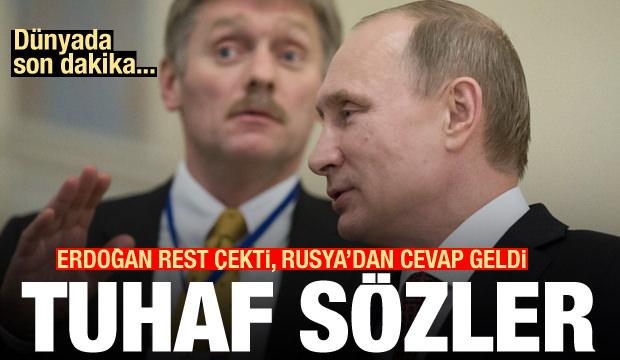 Erdoğan'ın Libya restine Rusya'dan tuhaf cevap