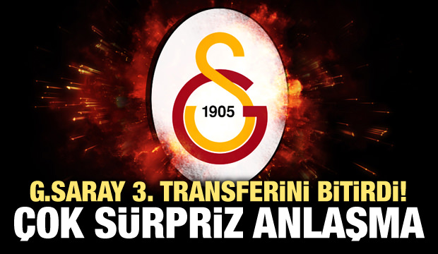 Galatasaray'dan sürpriz transfer!
