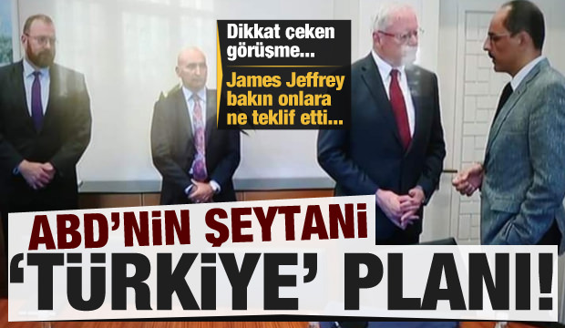 ABD'nin şeytani Türkiye planı! Jeffrey bakın onlara ne teklif etti...
