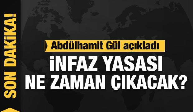 Abdülhamit Gül'den önemli açıklamalar